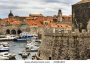 stock-photo-beautiful-view-of-dubrovnik-an-old-city-on-the-adriatic-sea-coast-47881807