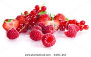 stock-photo-vitamin-collection-of-berries-sour-a-currant-ripe-red-a-strawberry-with-leaves-and-a-sweet-69901156