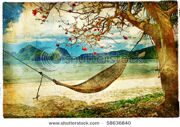 stock-photo-tropical-scene-artwork-in-painting-style-58636840