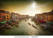 stock-photo-boats-and-gondolas-on-the-grand-canal-of-venice-italy-tinting-artistic-processing-48326557