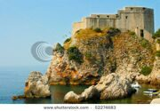stock-photo-fort-on-the-hill-in-dubrovnik-croatia-52274683
