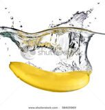 stock-photo-banana-dropped-into-water-isolated-on-white-58405969